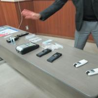 アルコ-ル検知器展示